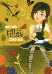 Agenda scolaire des filles 2010-2011