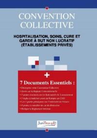 3198. Hospitalisation, soins, cure et garde à but non lucratif (établissements privés) Convention collective