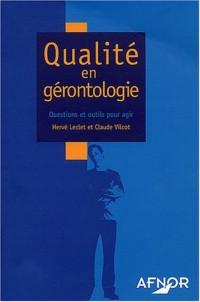 Qualité en gérontologie : Questions et outils pour agir