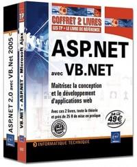 ASP.NET avec VB.NET - Coffret de 2 livres : Maîtrisez la conception et le développement d'applications web