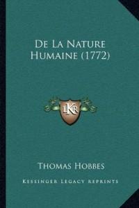 de La Nature Humaine (1772)