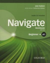 Navigate Workbook with key : Beginner A1 (1CD audio)
