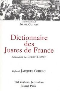 Dictionnaires des Justes de France
