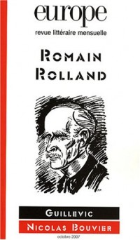 Europe, N° 942, Octobre 2007 : Romain Rolland