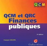 QCM et QRC Finances publiques. 3ème édition
