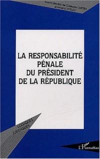 La responsabilité pénale du président de la République