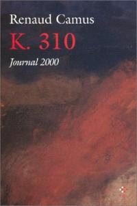 K. 310 : Journal 2000