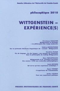 Philosophique, N° 862 : Wittgenstein - expérience(s)