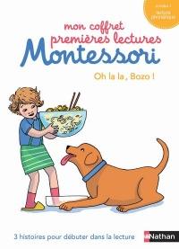 Mon coffret premières lectures Montessori : Oh la la, Bozo !