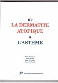 De la dermatite atopique a l'asthme