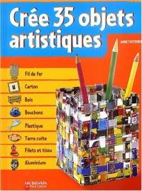 Créer 35 objets artistique