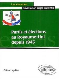 Partis et élections au Royaume-Uni depuis 1945