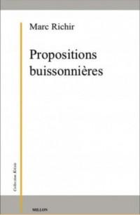 Propositions buissonnières