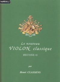 Nouveau violon classique vol.G