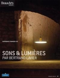 Expérience Pommery, N° 6 : Sons & lumières par Bertrand Lavier