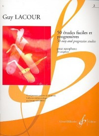 50 Etudes Faciles et Progressives Volume 2 - Saxophone