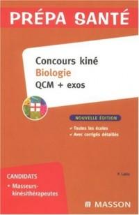 Concours kiné Biologie : QCM + exos