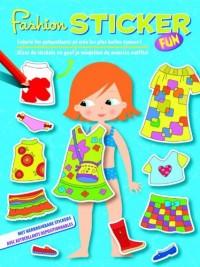 Fashion sticker ! : Colorie les autocollants et crée les plus belles tenues ! Livre bilingue belge