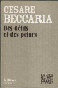 Des Delits et des Peines (Monde)