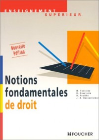 Notions fondamentales de droit