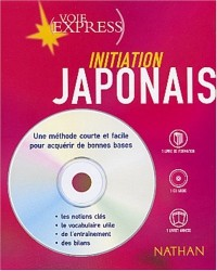 Japonais : Initiation (2 livres + 1 CD audio)
