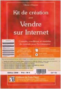 Kit de création pour vendre sur Internet (1Cédérom)
