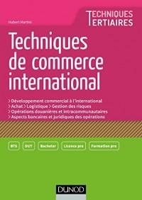 Techniques de Commerce international