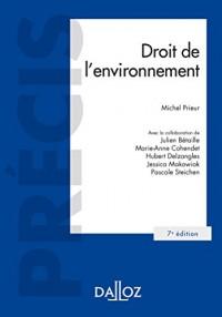 Droit de l'environnement - 7e éd.