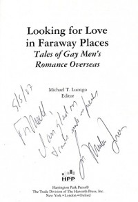 Lookiing for Love in Faraway Places: Tales of Gay Men's Romance Overseas
