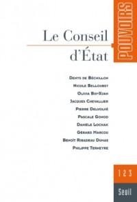 Pouvoirs, n°123. Le Conseil d'Etat (23)