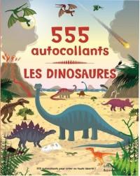 Les dinosaures : 555 autocollants