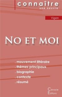 Fiche de Lecture No et Moi de Delphine de Vigan Analyse Litteraire de Reference