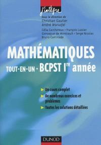 Mathématiques Tout-en-un BCPST 1re année