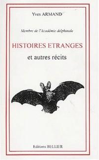 Histoires étranges et autres récits