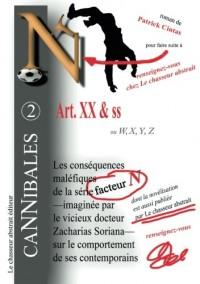 Art. XX & ss