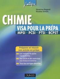 Chimie, visa pour la prépa MPSI, PCSI, PTSI, BCPST
