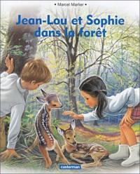 Jean Lou et Sophie dans la forêt