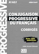 Conjugaison progressive débutant : Corrigés