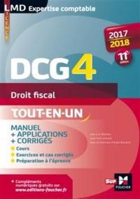 DCG 4 - Droit fiscal - Manuel et applications - 2017-2018 - 11e édition