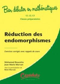 Réduction des endomorphismes, exercices corrigés avec rappels de cours
