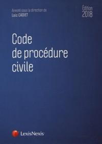 Code de procédure civile 2018: Prix de lancement jusqu'au 31/12/2017, 60.00 ¤ à compter du 01/01/2018