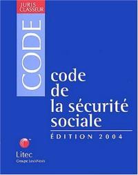 Code de la sécurité sociale 2004 (ancienne édition)