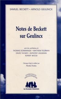 Notes de Beckett sur Geulinck