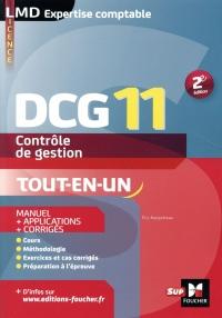 DCG 11 - Contrôle de gestion - Manuel et applications - 2e édition