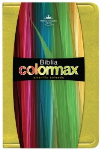 Holy Bible: RVR 1960 Biblia Colormax, Sunny Yellow, Simulated Leather, Pocket Size