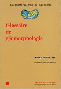 Glossaire de géomorphologie