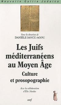 Les Juifs méditerranéens au Moyen Age : Culture et prosopographie
