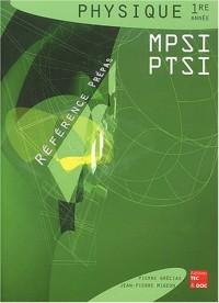 Physique 1ère année MPSI et PTSI