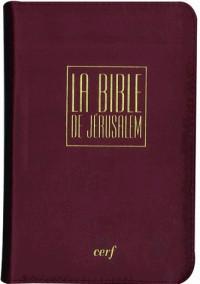 La Bible de Jérusalem Poche, étui