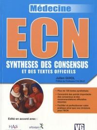 ECN Synthèses des consensus et des textes officiels